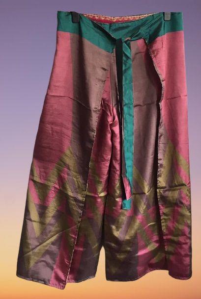 Reversible Thai pants approx size 16-20