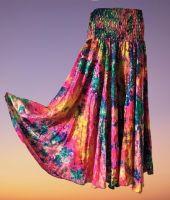 Tie dye palazzo trousers [Curvy Annie] 12-16