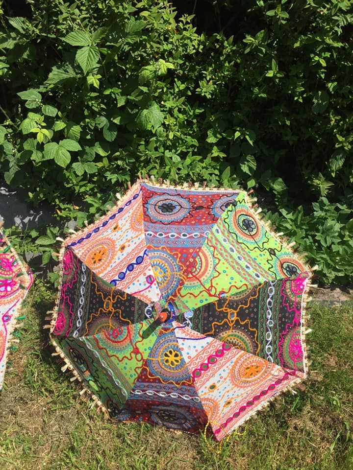 Beautiful Indian parasol approx 24 inches