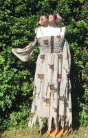 The  Lorena  pixie hem cold shoulder dress