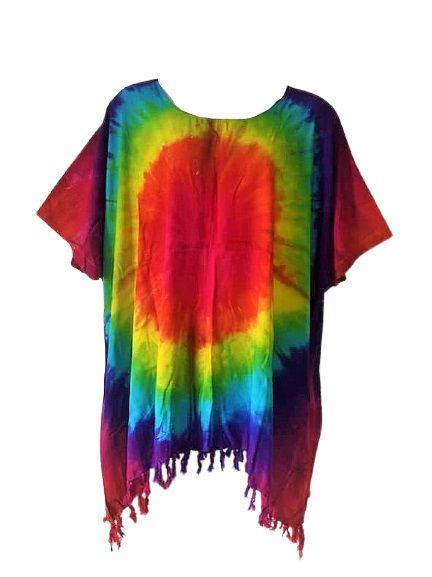 Funky rainbow  plus size top