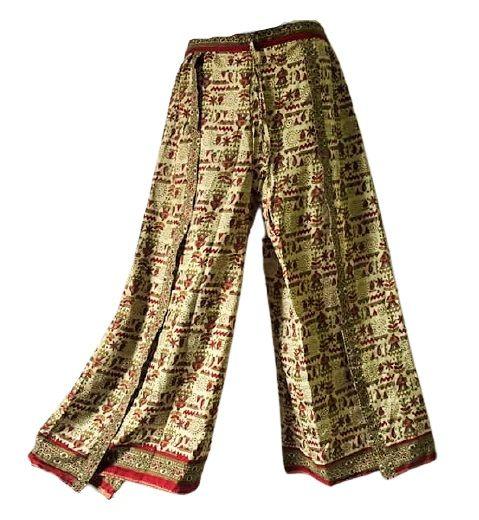 Fuax Thai pants simply gorgeous [regular size]