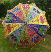 RESERVED CLAIRE ONLY   Garden patio Indian parasol [approx 71 inches]
