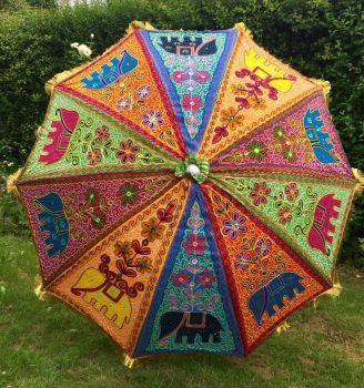 Garden patio Indian parasol [approx 71 inches]