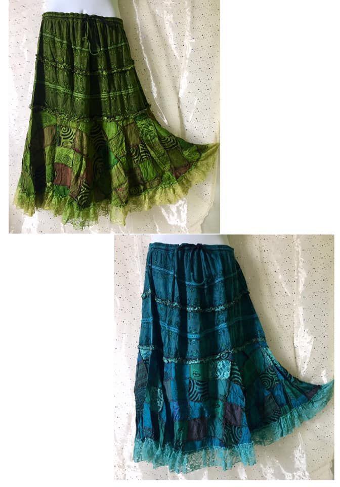 Gorgeous detailed fae skirt