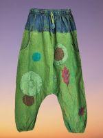 Nature love hippie harem trousers