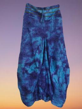 Lovely tie dye harem look skirt