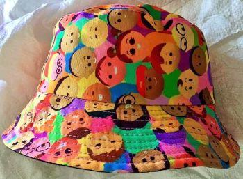 Happy people   bucket hat