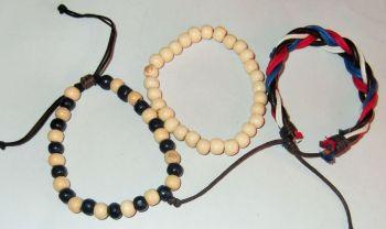 Blokie bracelets
