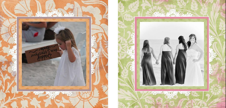 Personalised Photo Albums   Vintage design, handmade pocket sized keepsake photo album from PhotoFairytales