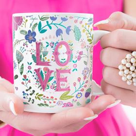 Personalised mugs wedding gift