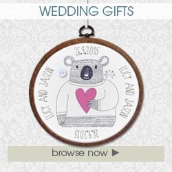 Gifts for wedding personalised