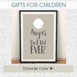 Gifts for children personalised