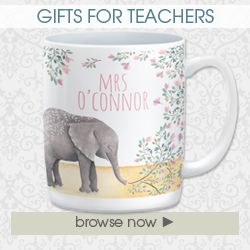 Gifts for teacher personalised