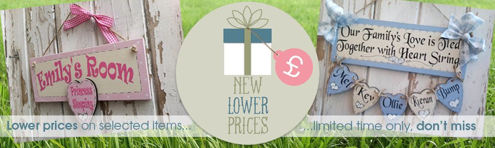 Summer 2016 new personalised gifts lower prices