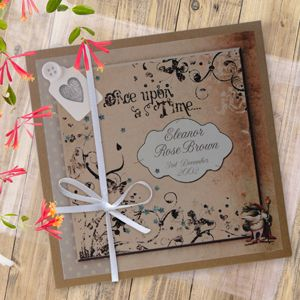 Storybook personalised photo album