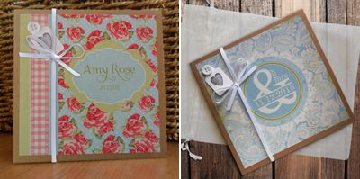Personalised handmade photo albums