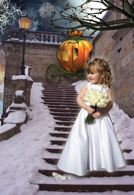Snow Princess fantasy photo portrait