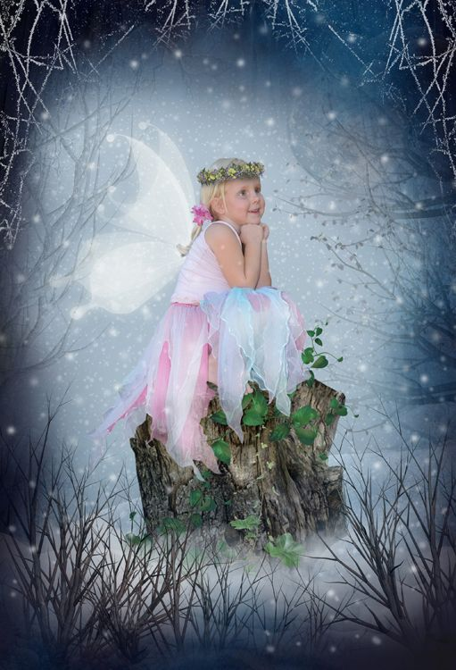 Winter Tale Christmas snow fantasy photo portrait gift