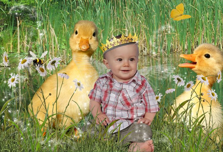 The Duck Pond fantasy photo portrait