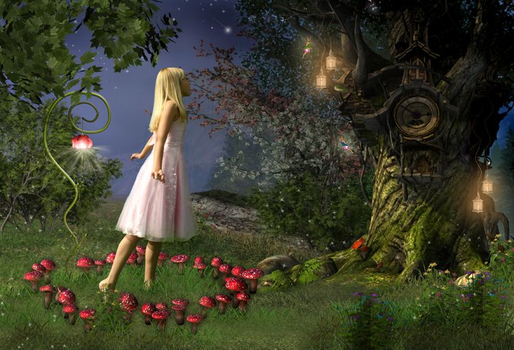 Fairy Ring fairy tale fantasy photo portrait
