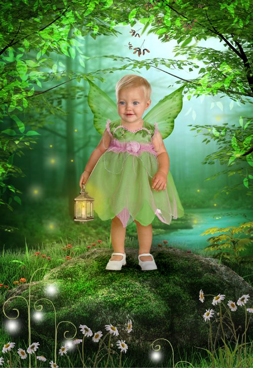 Fairy Wood fantasy photo portrait