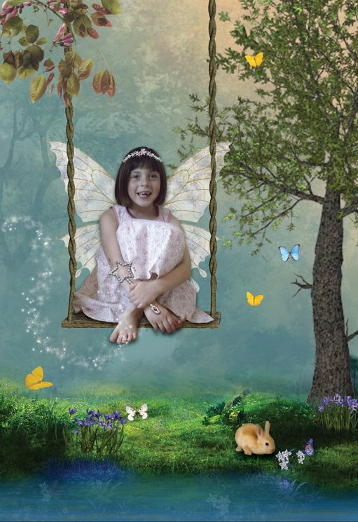 Quiet Retreat fantasy fairy photo portrait