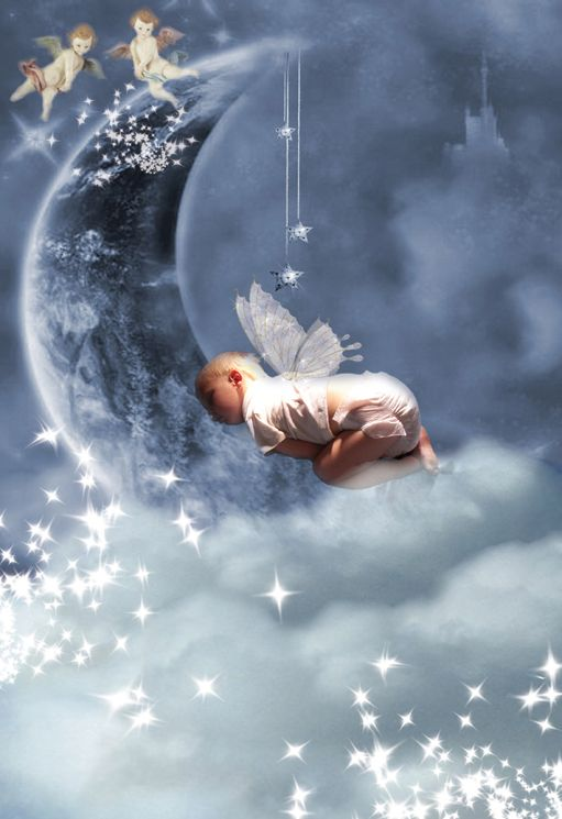 Sweet Dreams fantasy fairy photo portrait