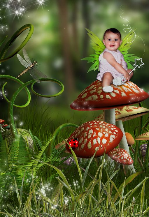 Forest Fairy fantasy photo portrait