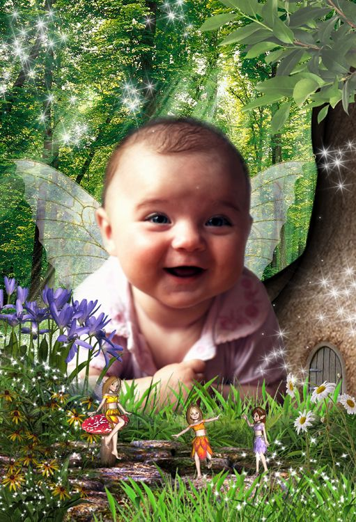 Fairy Dell fantasy photo portrait