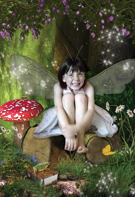 The Naughty Fairy fantasy photo portrait