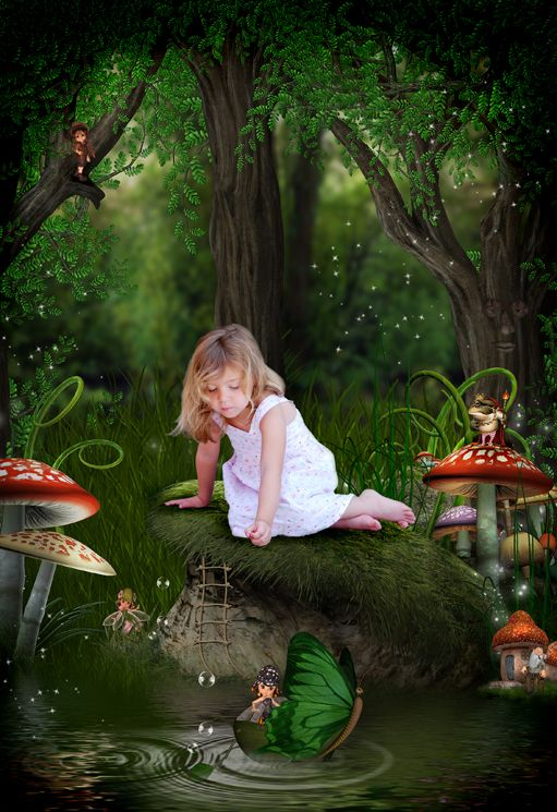 Fairy Hollow fantasy photo portrait