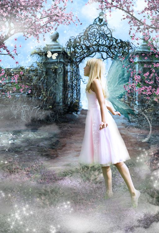 The Secret Garden fairy tale fantasy photo portrait