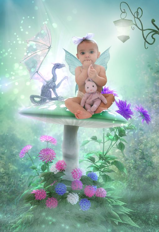 Dragons & Fairies fantasy photo portrait
