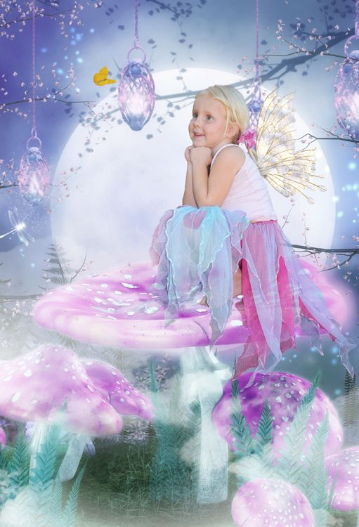 Twilight Fairy fantasy photo portrait