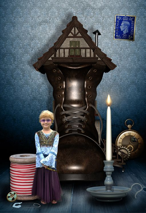The Borrower fairy tale fantasy photo portrait