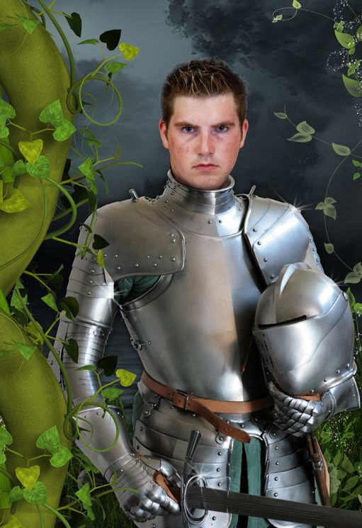 Knight in Shining Armour personalised fantasy photo gift