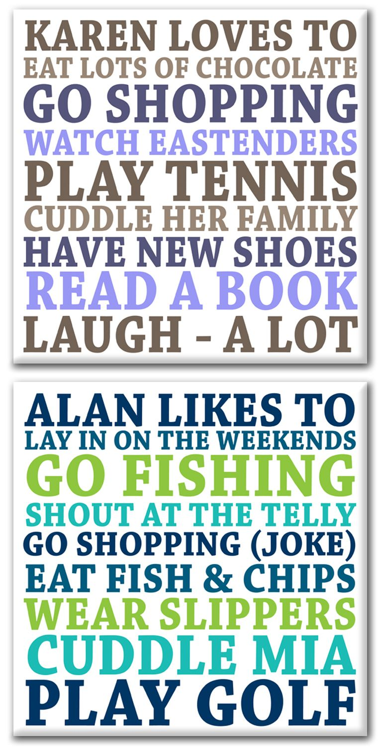 Its all about me personalised word art canvas print
