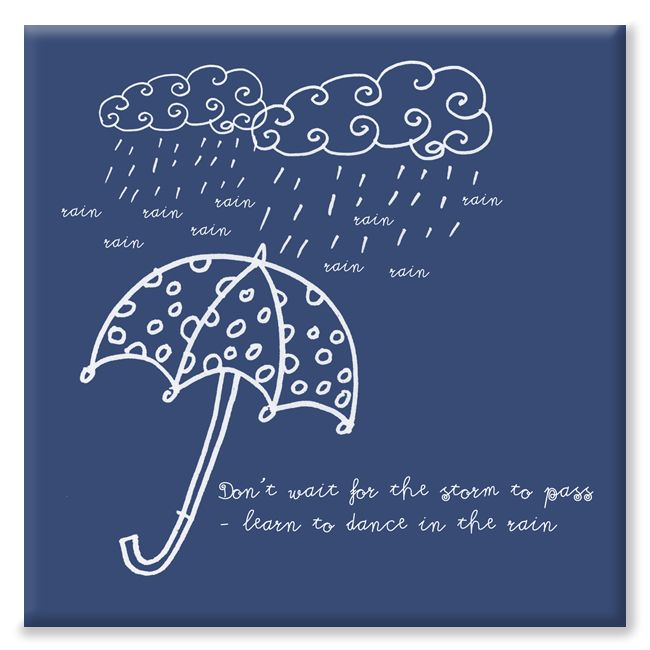 Dance in the rain bespoke canvas
