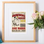 Personalised Vintage Prints for Her