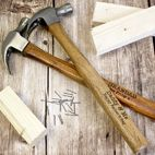 Personalised hammer DIY gift