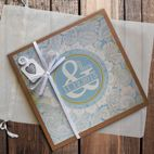 Personalised handmade wedding photo album
