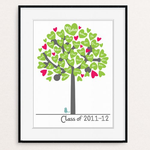 Classroom Tree personalised Teacher gift