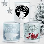 Christmas personalised mugs