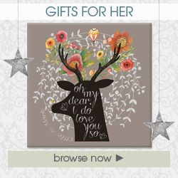 Handmade personalised gifts for her