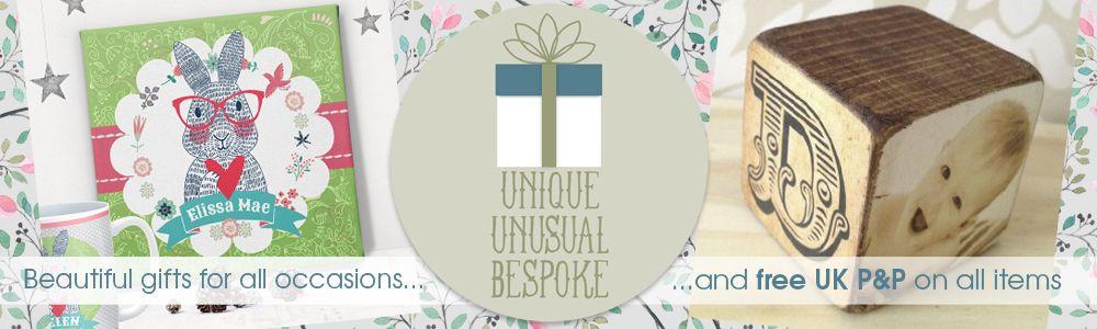 Winter 2016 personalised handmade gifts