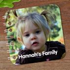 personalised baby toddler board books