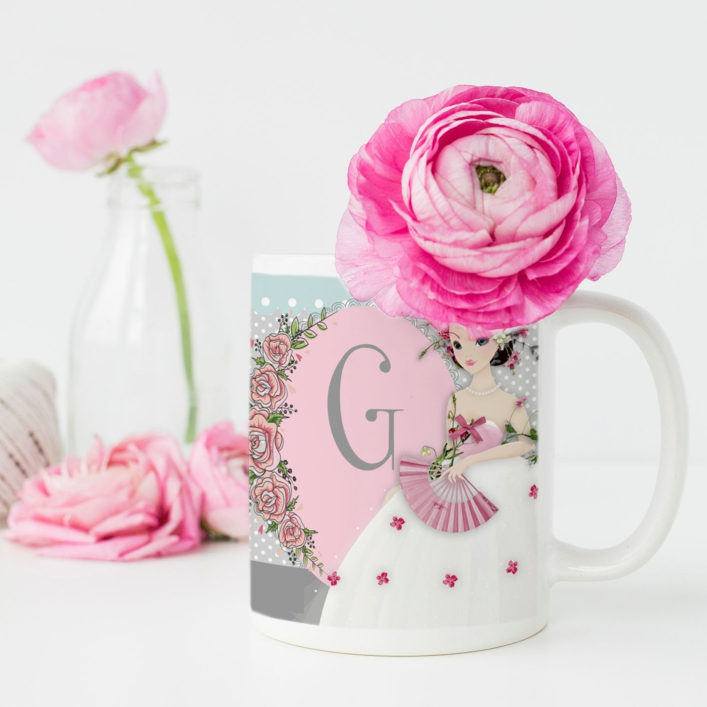 Unique unusual personalised mug Christmas gift range