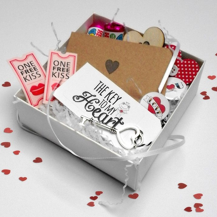 Personalised Love Gift Box Hamper Valentine present