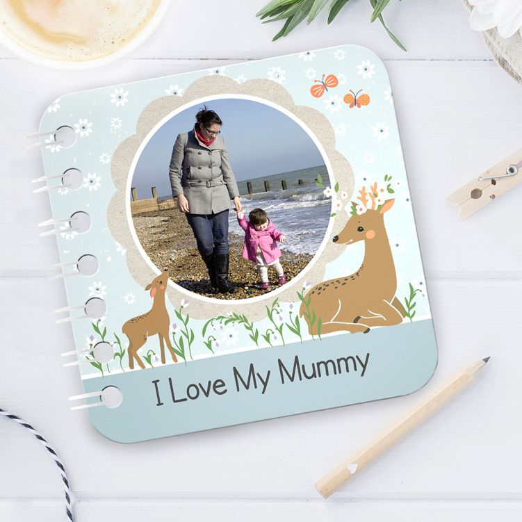 Springtime personalise board book baby Mother's Day gift Easter spring